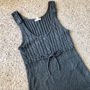 Aeropostale gray sweater dress, Large